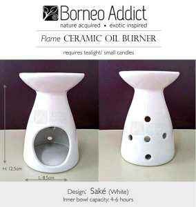 BA Sake Oil Burner-white