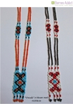 """Vinusak"" motif beaded necklace"