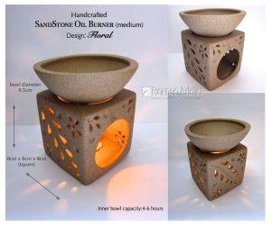 B.A. Sandstone Burner 4-6hrs