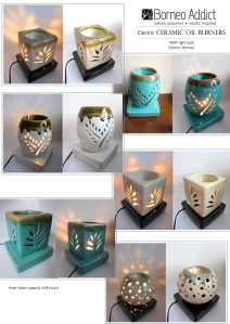 BA Electric Oil Burner Collection 2013