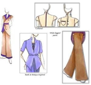 Borneo Addict uniform designs