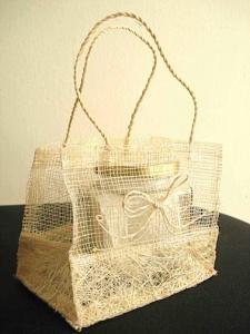 Natural fibre bag