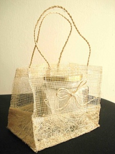 Natural fibre bag