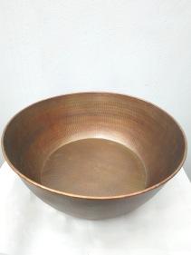 40cm wide copper foot basin