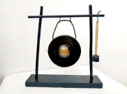 Table gong with mallet handcrafted in Borneo